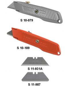INTERLOCK NOSE UTILITY KNIFES - S 10-189