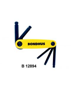 BALL END HEX FOLD UP SETS - B 12897