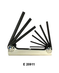 HEX WRENCH FOLD UP SETS - E 20511
