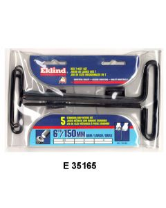 HEX T-HANDLE WRENCH SETS - E 35195