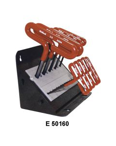 HEX T-HANDLE WRENCH SETS - E 36168