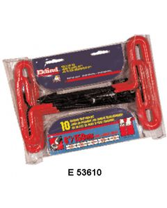 HEX T-HANDLE WRENCH SETS - E 55166