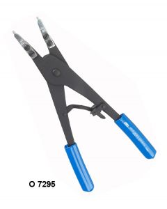 REPLACEABLE TIP RATCHETING INTERNAL RETAINING RING PLIERS - O 7295