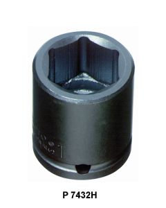 6 POINT STANDARD LENGTH IMPACT SOCKETS - P J15055